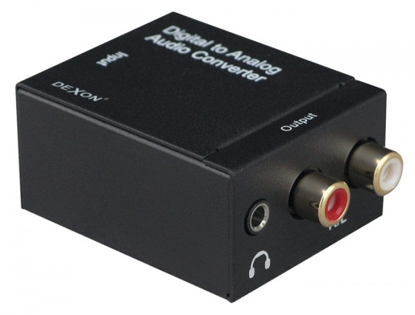 NS 71 konvertor S/PDIF Coaxial + TOS-Link / RCA audio