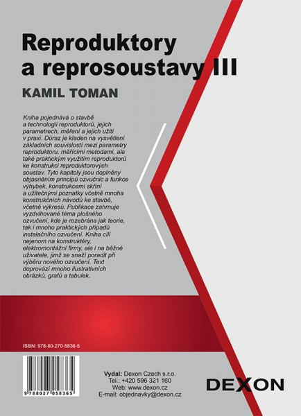 Reproduktory a reprosoustavy III